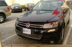 Volkswagen Touareg 2013 Black for sale