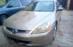 Foreign Used Honda Accord 2004 Gold