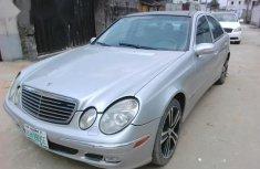 Mercedes Benz E350 2005 Silver for sale