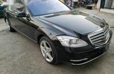 Registered Mercedes-Benz S550 2012 Black