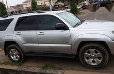 Toyota 4runner 2006 Silver for sale