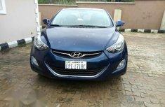 Hyundai Elantra 2013 Blue for sale