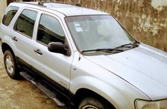 Clean Ford Escape 2003 Silver for sale