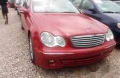 Mercedes Bens C280 2006 Red