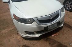 Acura TSX 2009 White for sale