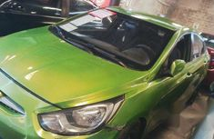 Hyundai Accent 2013 Green for sale
