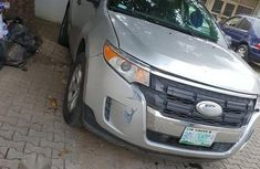Clean Ford Edge 2012 Silver for sale