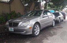Clean Mercedes-Benz C230 2004 Gray