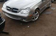 Mercedes Benz C230 2007 Gold for sale