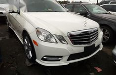 Mercedes-Benz E350 2010 White for sale