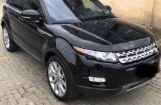 Clean Range Rover Evoque 2014 Black