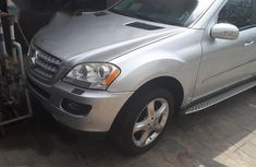 Mercedes-benz Ml 350 2007 Silver for sale