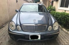 Mercedes-Benz E200 2004 Blue for sale