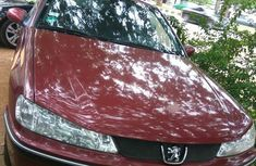 Clean Peugeot 406 2005 Red for sale