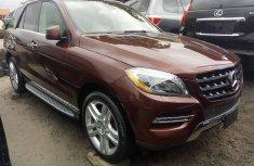 Mercedes-Benz ML350 2015 Petrol Automatic Brown