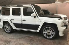 Mercedes Benz G63 2012 White for sale
