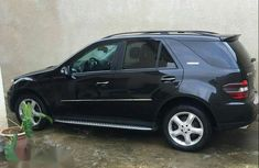 Neatly Used Mercedes-Benz ML 350 2008 Black