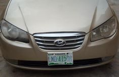 Hyundai Elantra 2010 Gold for sale