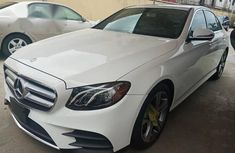 Almost Brand New Mercedes-benz E300 2017 White