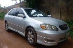 Toyota Corolla Sport 2005 Gray for sale