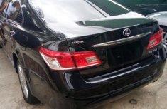 New Lexus Es350 2011 Black for sale