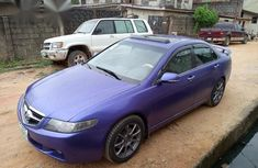 Acura TSX 2005 Purple for sale