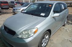 Clean Tokunbo Toyota Matrix 2004 Silver