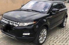 Superclean Range Rover Evogue 2014 Black