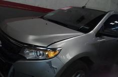 Clean Ford Edge 2010 Silver for sale