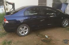 Clean Honda Civic 2008 Blue for sale