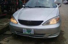Clean Toyota Camry 2002 Silver for sale
