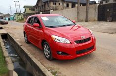 Tokunbo Toyota Matrix 2009 Red for sale