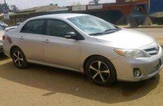 Toyota Corolla Sport 2012 Silver for sale