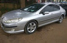 Peugeot 407 2008 Gray for sale