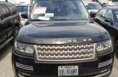 Nigerian Used Land Rover Range Rover 2015 Black