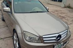 Mercedes Benz C300 2008 Gold for sale