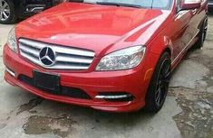 Used Mercedes-Benz C300 2011 Red for sale