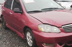 Toyota Corolla Sport 2007 Red for sale