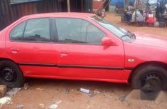 Clean Nissan Almeria 1999 Red for sale