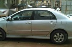 Toyota Corolla Sport 2004 Silver For Sale