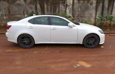 Clean Lexus IS250 2007 White for sale