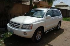 Toyota Highlander 2003 White for sale
