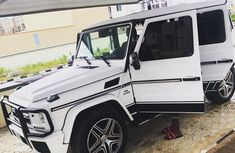 Mercedes-Benz G63 2015 White for sale
