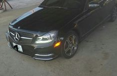 Mercedes Benz C350 2013 Black for sale