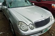 Used Mercedes-benz E320 2008 Silver for sale