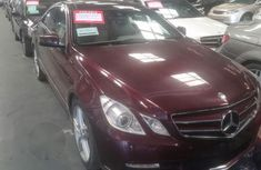 Mercedes Benz E350 2011 Red for sale