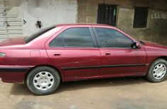 Nigeria Used Peugeot 406 1999 Red for sale