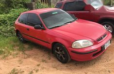 Honda Civic 1999 Red for sale
