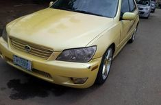 Lexus IS 2004 Petrol Automatic Yellow