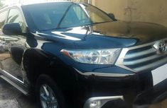 Toyota Highlander 2013 Black for sale